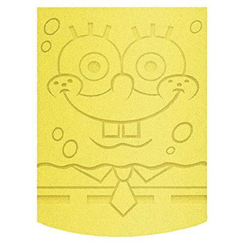 Wet N' Wild wet n wild SpongeBob Makeup Sponge, SpongeBob Squarepants Makeup Tools, Flat Edge Makeup Sponge