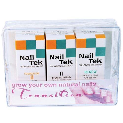 Nail Tek - Nail Tek Repairs Damaged Nails kit.Intensive Therapy(.5OZ),Foundation(.5OZ)& Renew(.48OZ)