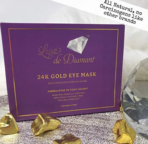Luxe De Diamant - 24K Gold Collagen Eye Mask