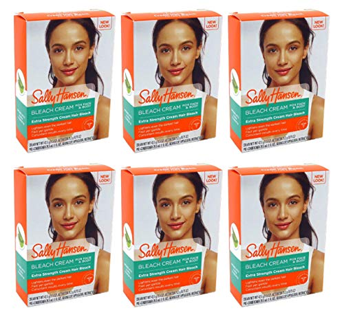 Sally Hansen - Sally Hansen Creme Hair Bleach Extra Strength For Face & Body (6 Pack)