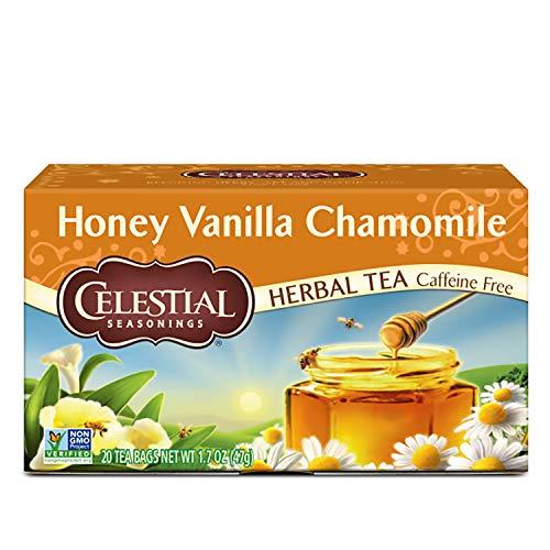 Celestial Seasonings - Celestial Seasonings Honey Vanilla Chamomile Herbal Tea, 20 ct