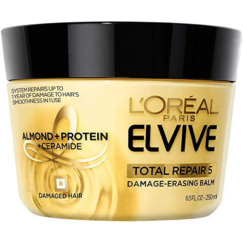 L'Oreal Paris - L'Oreal Advanced Haircare Total Repair 5 Damage-Erasing Balm 8.5 oz