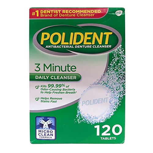 Polident - Antibacterial Denture Cleanser