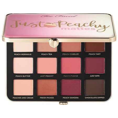 Toofaced - Just Peachy Mattes Eye Shadow Palette