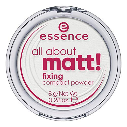 Essence Cosmetics - essence | All About Matt! Fixing Compact Powder | Translucent - For All Skin Tones and Types
