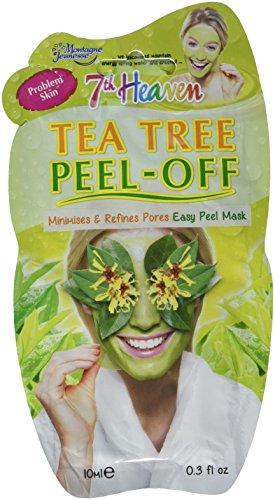 Montagne Juenesse Facepack - Montagne Juenesse Facepack Tea Tree Peel Off Mask, 1.8 Ounce