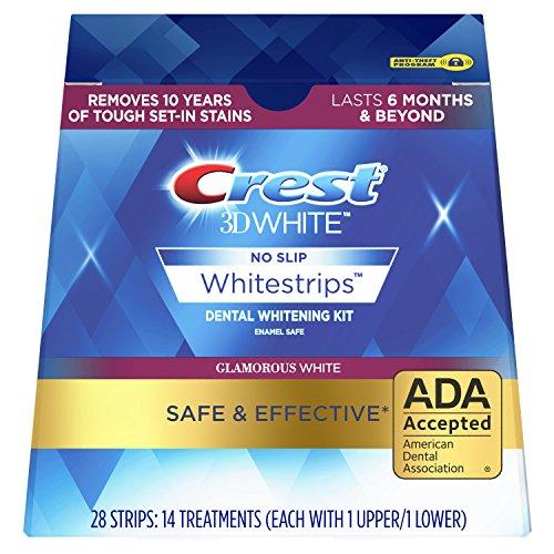 Crest - Crest 3D White Whitestrips Glamorous White Teeth Whitening Kit, 14 Count
