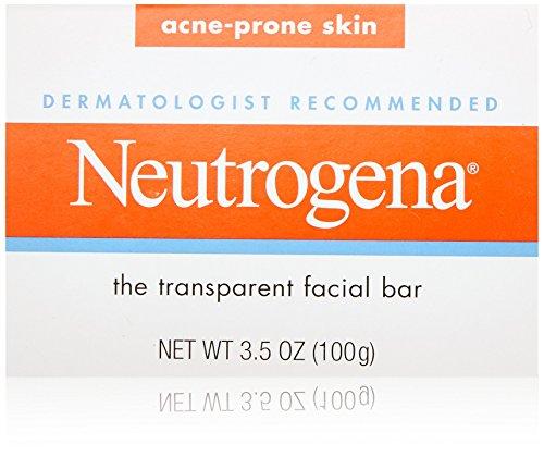 Neutrogena - Neutrogena Transparent Facial Bars, Acne-Prone Skin Formula, 3.5 Ounce