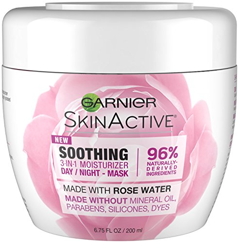 Garnier - 3-in-1 Face Moisturizer with Rose Water