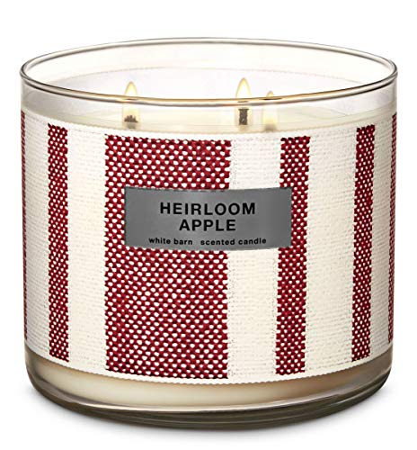 Bath & Body Works - Bath & Body 3 Wick Candle Heirloom Apple