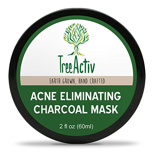 TreeActiv - Acne Eliminating Charcoal Mask