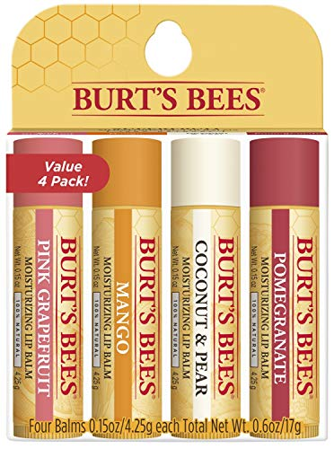 Burts Bees - 100% Natural Moisturizing Lip Balm, Superfruit