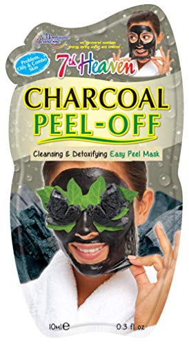 7Th Heaven Charcoal Peel-Off Mask - Mascarilla Peel-Off Carbón Montagne Jeunesse
