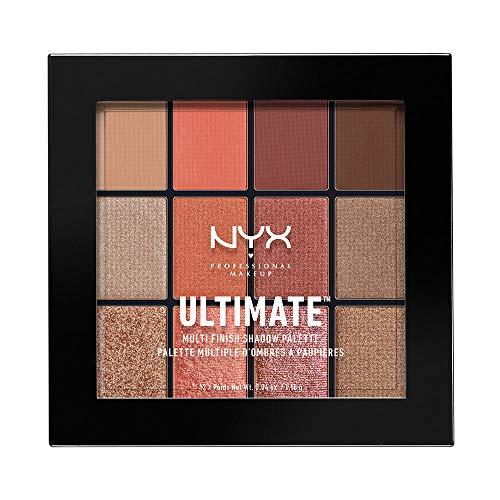 NYX - Multi-Finish Shadow Palette, Warm Rust