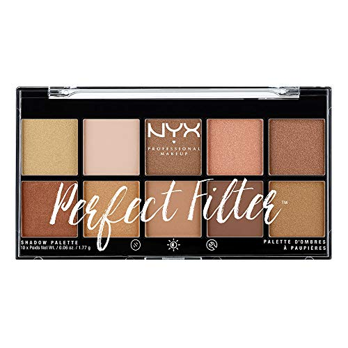 NYX - Perfect Filter Shadow Palette, Golden Hour
