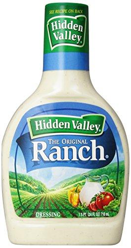 Hidden Valley - Hidden Valley Original Ranch Salad Dressing & Topping, Gluten Free - 24 Ounce Bottle