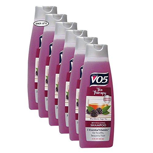 V05 - V05 Revitalizing Shampoo With Blackberry(443ml) 0340616 (Pack of 6)
