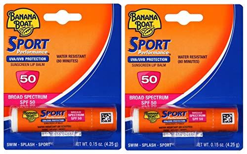 Banana Boat - Banana Boat Spf#50 Sport Lip Balm 0.15 Ounce (4.4ml) (3 Pack)