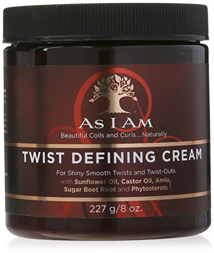 As I Am - As I Am Twist Defining Cream - 8 Ounce - with Castor oil and Phytosterols