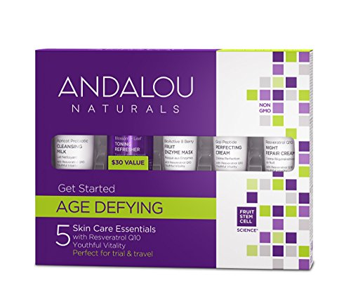 Andalou Naturals - Andalou Naturals Age Defying Get Started Kit, 5 Count