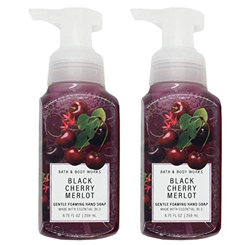 Bath & Body Works - Bath and Body Works Gentle Foaming Hand Soap, Black Cherry Merlot 8.75 Ounce (2-Pack)