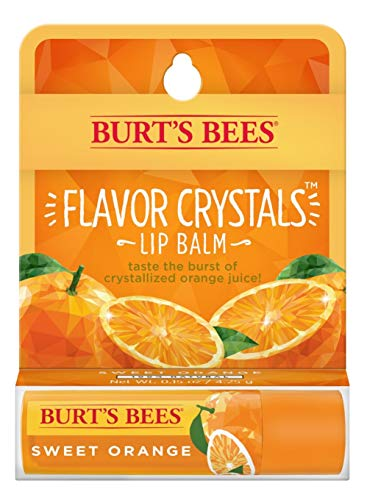 Burts Bees - Flavor Crystals Lip Balm, Sweet Orange