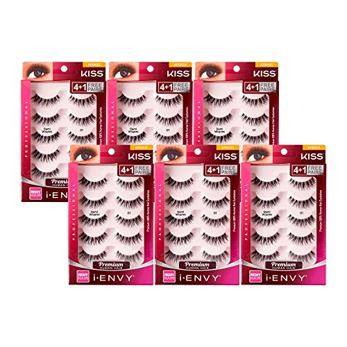 Kiss - Kiss I Envy Beyond Naturale 01 Lashes Demi Wispies Value Pack