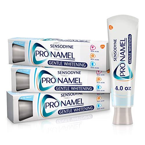 SENSODYNE PRONAMEL - Sensodyne Pronamel Gentle Whitening, Enamel Strengthening Toothpaste, 4 ounce (Pack of 3)