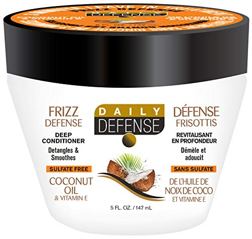 Daily Defense - Daily defense 3 minute hair conditioner coconut oil 5 fluid ounce
