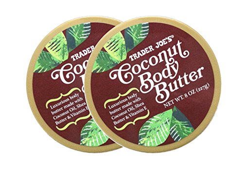 genius.nn - 2 Packs Trader Joe's Coconut Body Butter