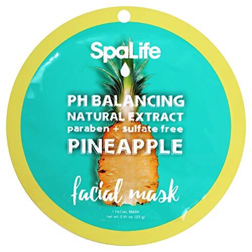 Spa life - PH Balancing Facial Mask, Pineapple