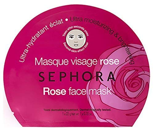 Sephora - Rose Face Mask