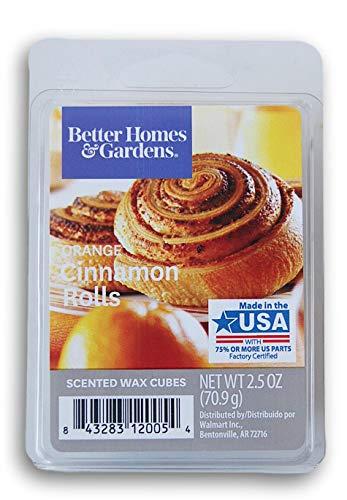 Seasonal Décor Seasonal Décor Better Homes and Gardens Scented Wax Cubes - Orange Cinnamon Rolls