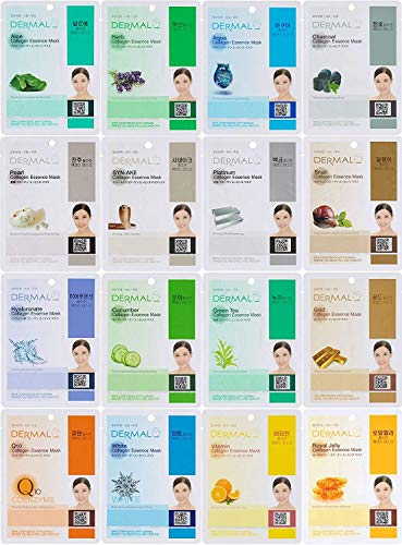 Dermal - Collagen Essence Full Face Facial Mask Sheet