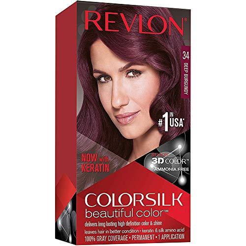 Revlon - Colorsilk Beautiful Color, 34 Deep Burgundy