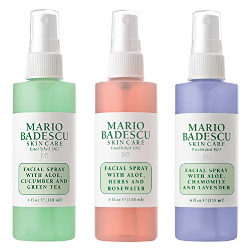 Mario Badescu - 3 Piece Set: Lavender, Cucumber, Rose