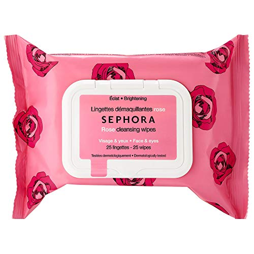 Sephora Collection - SEPHORA COLLECTION Cleansing & Exfoliating Wipes ROSE 25 WIPES