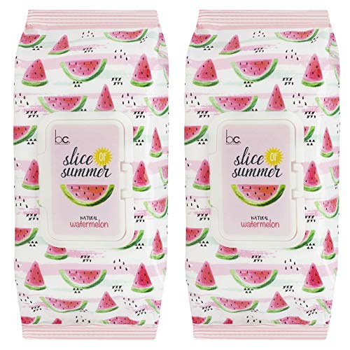Beauty Concepts - Slice of Summer Watermelon Detoxifying Facial Wipes
