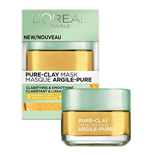 L'Oreal Paris - Pure-Clay Face Mask with Yuzu Lemon