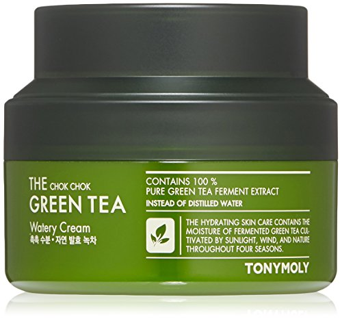 Tonymoly - The Chok Chok Green Tea Watery Moisture Cream