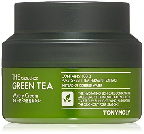 Tonymoly - TONYMOLY The Chok Chok Green Tea Watery Cream, 3.4 Fl Oz