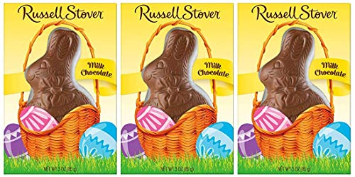 Russell Stover - Russell Stover Milk Chocolate Easter Rabbit, 3 oz.