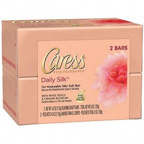 Caress - Caress Beauty Bar, Daily Silk 4 oz, 2 Bar