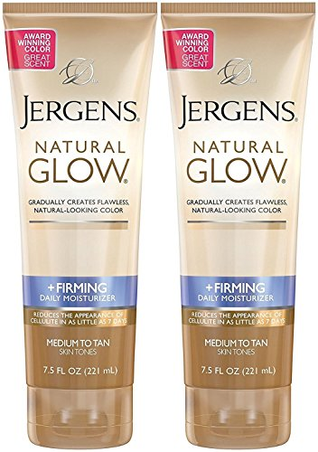 Jergens - Jergens Natural Glow +Firming Daily Moisturizer, Medium to Tan Skin Tones, 7.5 Ounce (2 Pack)