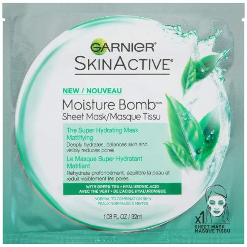 Garnier - Garnier SkinActive Moisture Bomb The Super Hydrating Mattifying Sheet Mask,