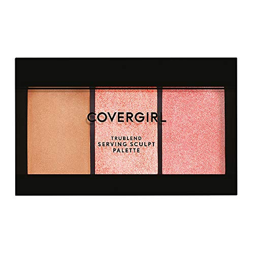 Covergirl - Covergirl TruBlend Serving Sculpt Contour Palette, Bloom Babe 500, 0.22 Ounce