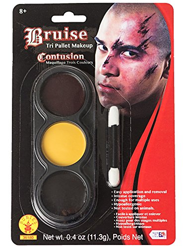 Mehron - Mehron Makeup Tri-Color Halloween Makeup Palette (BRUISE)