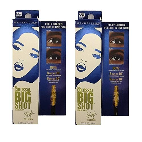 Maybelline - Maybelline New York Volum' Express The Colossal Big Shot Mascara X Shayla, Boomin' in Blue, 0.33 Fluid Ounce