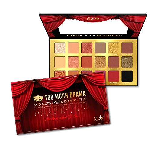RUDE - Rude Cosmetics Too Much Drama - 18 Eyeshadow Palette