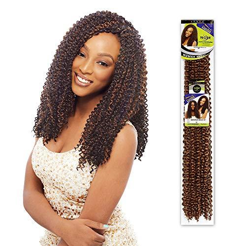 "Janet Collection - Janet Collection NOIR Bohemian Braid 24"" FS1B/BURG"